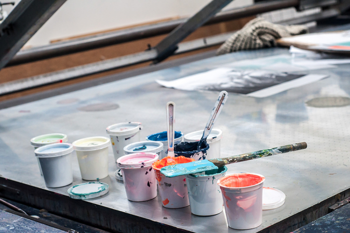 Screenprinting inks